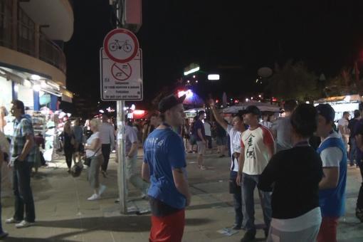 Погнаха уличните чейнчаджии в Слънчев бряг
