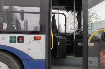 Автобус блъсна Мерцедес