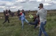Бежанецът, спънат от операторка, става футболен треньор