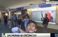 Дете бежанец в Словакия се закани по телевизията, че ще коли (видео)