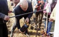 Сладко грозде и опияняващи вина пожела на лозарите кметът Иван Алексиев