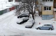 До обяд слънце, следобед - сняг