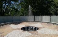 Тестваха фонтана до Казиното... доста е семпъл