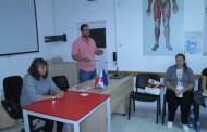 """SOS-ПТП и БЧК-Бургас продължават съвместните си лекциите на тема """"пътна безопасност"""""""