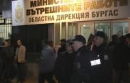 И бургаските полицаи се вдигнаха на протест