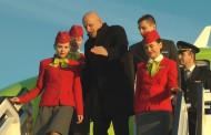 Летище Бургас посрещна хилядния полет на Сибирските авиолинии