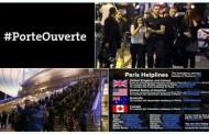 #PorteOuverte - с този хаштаг парижани отвориха домовете си за пострадалите