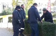 Мъж с каска стреля в кабинета на психиатър в Бургас