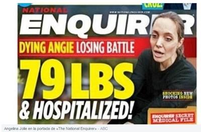 Анджелина Джоли е в болница заради анорексия ?