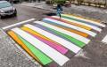 България отхвърлила идеята за цветни пешеходни пътеки