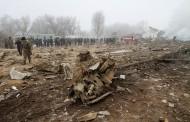 Турски самолет падна върху село край Бишкек