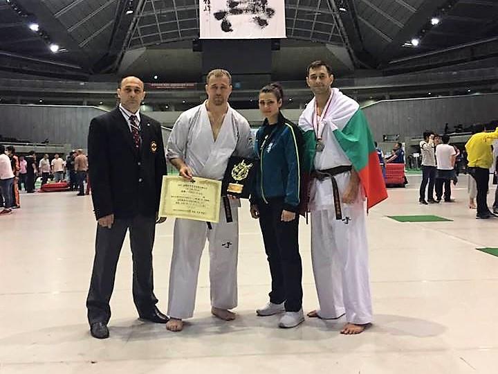 Състезател на Гери Апостолова е световен шампион