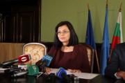 Меглена Кунева: През бежанския поток е възможно да се увеличи и нивото на трафик на хора