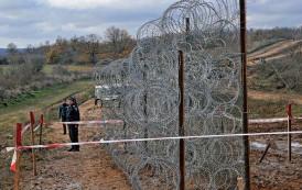 Завършва възстановяването на щетите на оградата по българо-турската граница