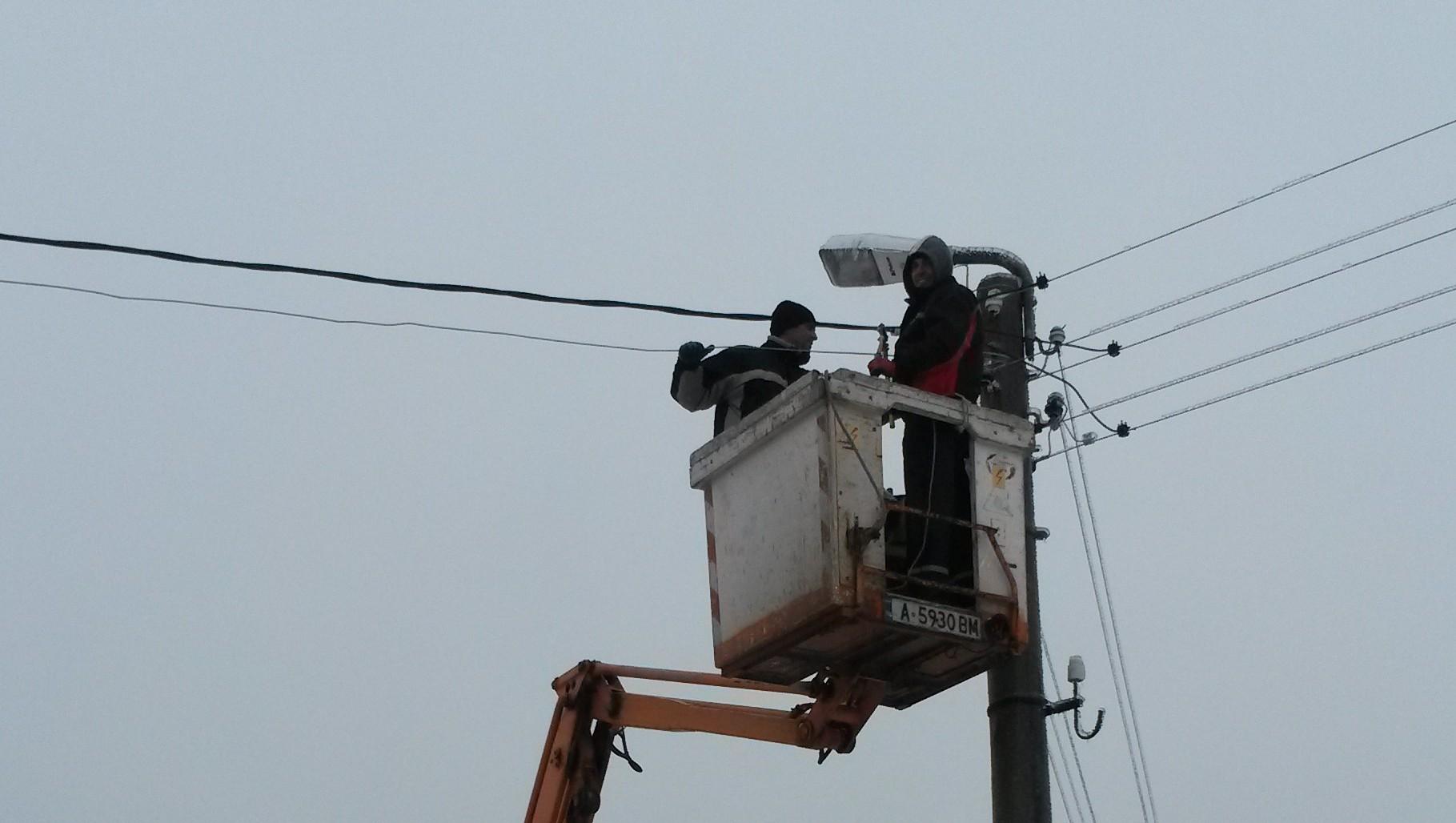 Само Атия е без ток
