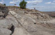 Открито е монументално каменно стълбище на крепостта Русокастро