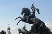 Поморие открива скулптура на Св. Георги