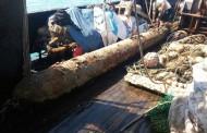 Рибарски кораб извади от морето край Созопол учебно торпедо
