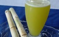 Фреш от захарна тръстика на Фермерския пазар в Бургас