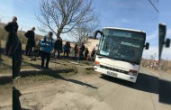 Автобус с ученици се запали в движение /видео/