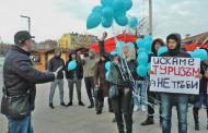 Сини балони над Бургас срещу рестарт на проекта Бургас - Александруполис /видео/
