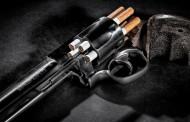 Кофа тютюн и револвер