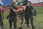 Арести и пожари след Ботев - Локо Пд в Бургас /Видео/