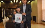 Кметът пожела успех на Иван Стоянов на Детската Евровизия