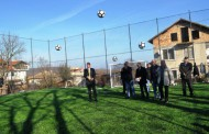 Кметът Николов откри ново футболно игрище в с. Твърдица