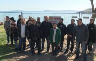 Втори ден протести на плажа в Черноморец, собственици на терени заградиха морето /галерия/