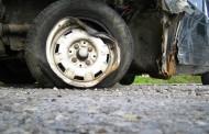Резервна гума изхвърча и предизвика катастрофа в насрещното на ул. Захари Стоянов
