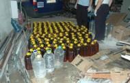 100 литра фалшив алкохол иззе полицията в Поморие