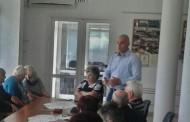 Николай Тишев обсъди актуални въпроси с жители на Поморие
