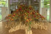 "Уникални арт инсталации на бургаската ""Флора"" (видео)"