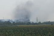 Пожар гори край Деултум