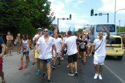 Стотици блокираха Слънчев бряг. Поискаха оставката на Валери Симеонов