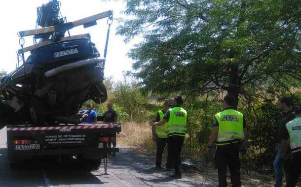 Верижна катастрофа блокира пътя Айтос - Бургас