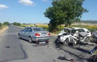 Две жени и дете са пострадали при верижната катастрофа до Ахелой