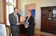 Областният управител Вълчо Чолаков се срещна с новия посланик на Израел