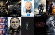Кои са най-чаканите филми до края на 2017 година /ВИДЕО/