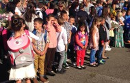 59 първокласници прекрачиха училищния праг в Община Приморско