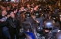 Многохиляден протест в Скопие, атакуваха президента с яйца и камъни /ВИДЕО/
