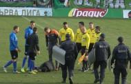 Кой удари Ивайло Петров - Пифа след мача в Бургас (видео)