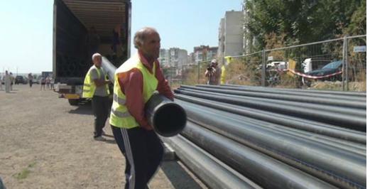 Авария спира водата в част от Бургас