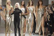 Супермоделите на 90-те се завърнаха за ревю на Versace