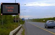 Eлектронни пътни знаци в участъци с натоварено движение