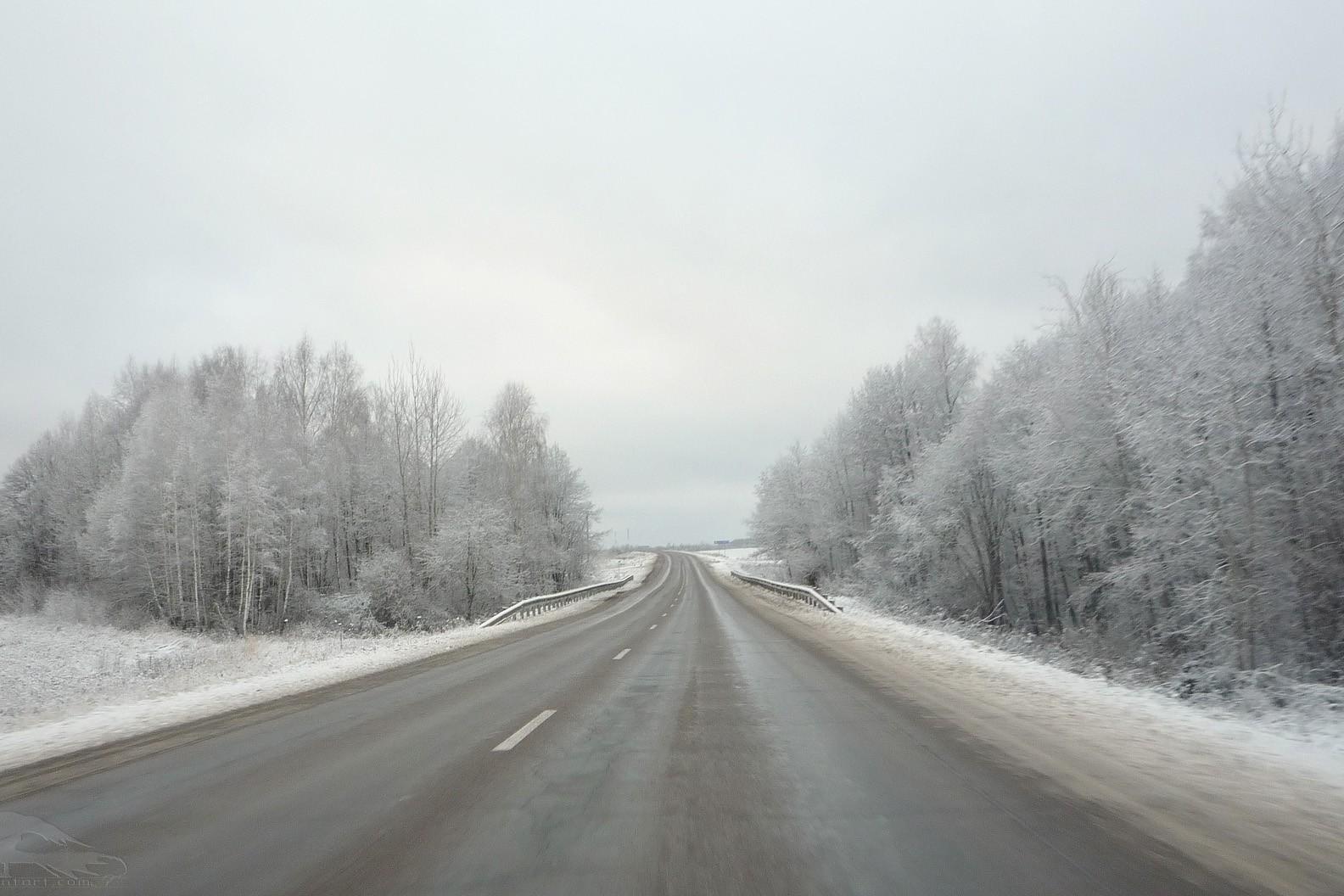 Заледени пътища в областта