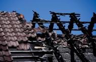 Пожар изпепели две къщи в с. Церковски