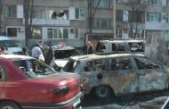 Запалиха пет коли в Бургас /видео/